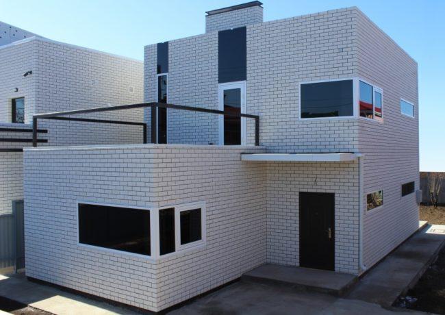 силикатный кирпич для фасада