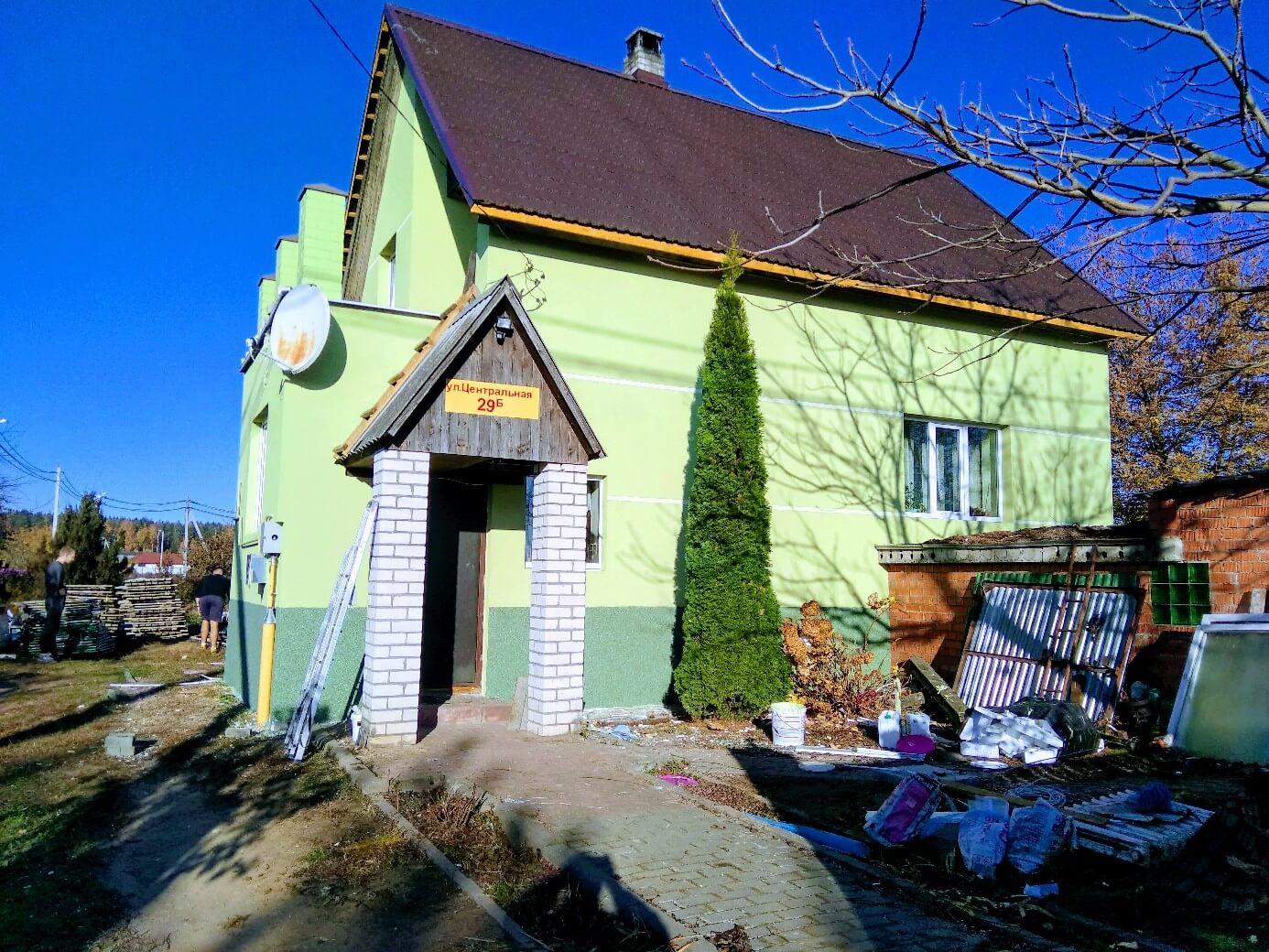 Декоративная отделка фасада в Минске