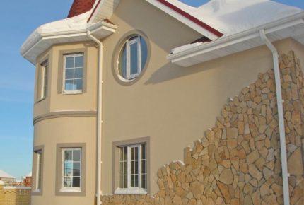 фасадные работы под ключ стоимость
