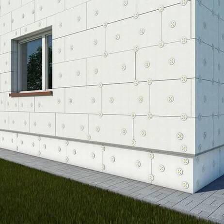 утепление пенопластом подготовка стен